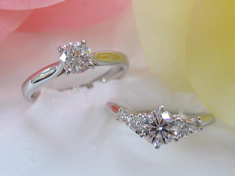 ダイヤはトリプルエクセレントを中心に在庫多数